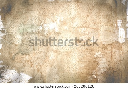 watercolor texture background.old paper - stock photo