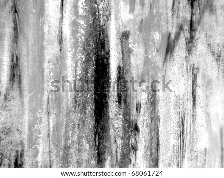 Watercolor Textures in  Black & White 1 - stock photo