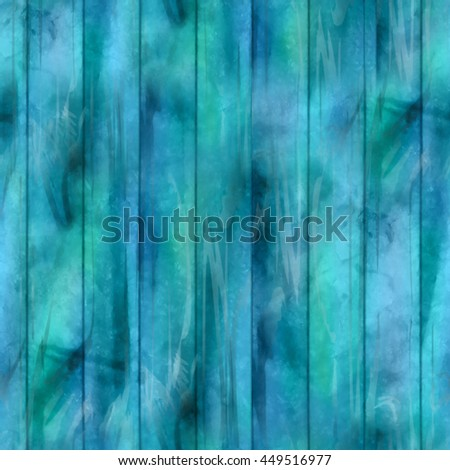 Watercolor wooden seamless pattern. Hand painted abstract texture