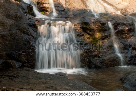 Waterfall and Trickle
