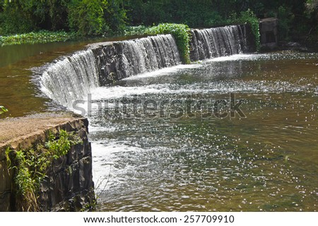 Waterfall at Canela - Rio Grande do Sul - Brazil - stock photo
