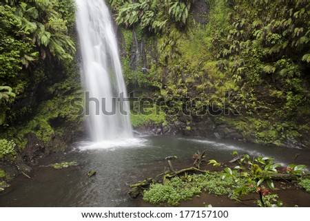 Waterfall in Montagne D'Ambre National Park