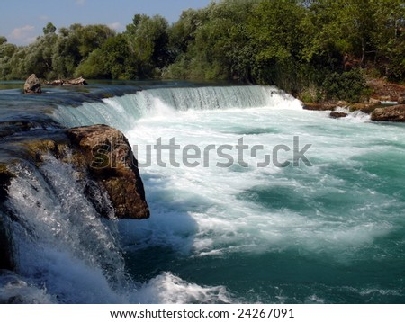 "Waterfall ""Manavgat"" - Turkey - stock photo"