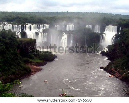 Waterfall National Park - stock photo