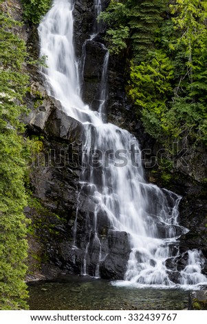 Waterfalls in EC Manning Park, British Columbia