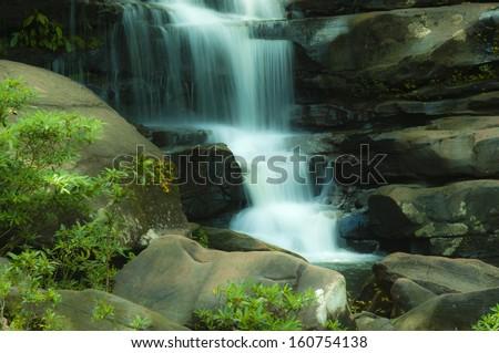 Waterfalls,  Tat Pho  Nakhon Phanom National Park Thailand - stock photo