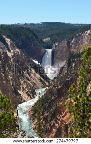 Waterfalls, Yellowstone National Park
