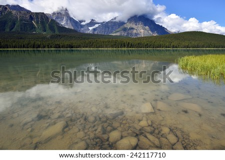Waterfowl Lakes Banff National Park