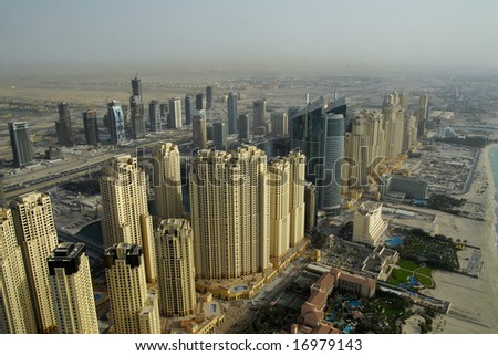 Waterfront Developments In A Prime Location In Dubai - stock photo