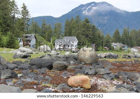 Waterfront Homes at Petersburg Alaska