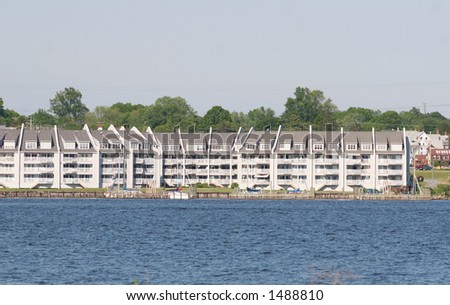 Waterfront housing