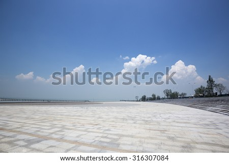 Waterfront Plaza building - stock photo