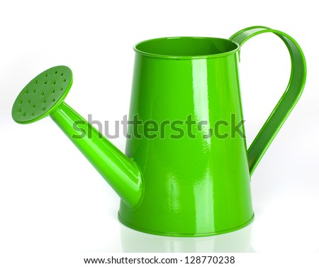 watering can - stock photo