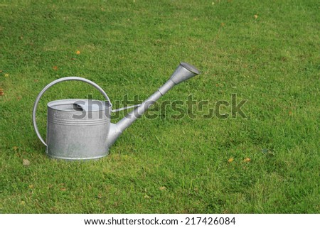 Watering-can (watering-pot)  - stock photo