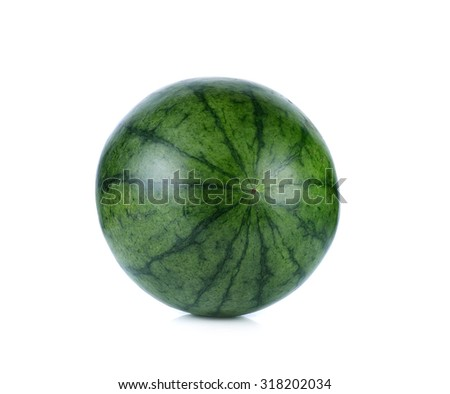 watermelon isolate on white background