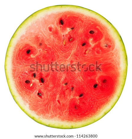 Watermelon. isolated on white background