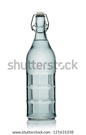 Watter bottle - stock photo