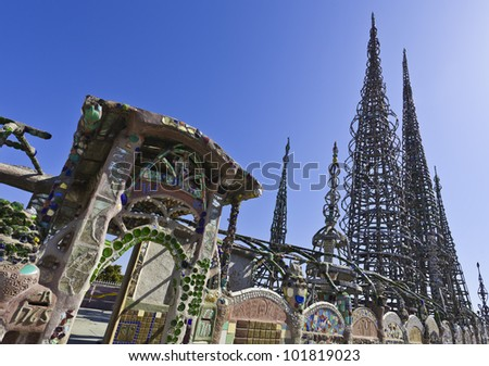 watts towers in the USA