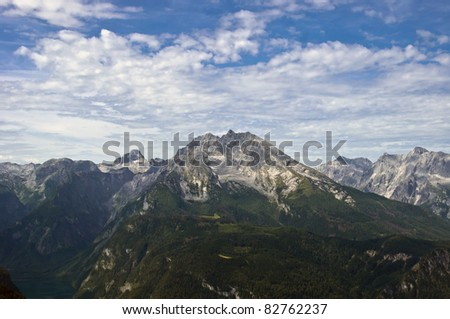 Watzmann - second highest mountain in Germany