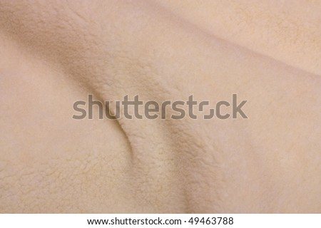 Wave background of fur texture.
