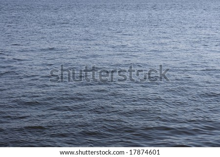 Wave background on a sea - stock photo