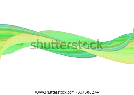 Wave illustration art abstract background