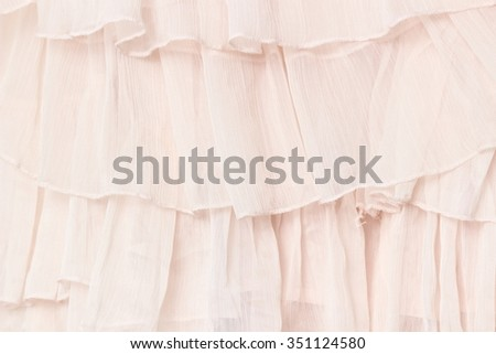 Wave of texture chiffon