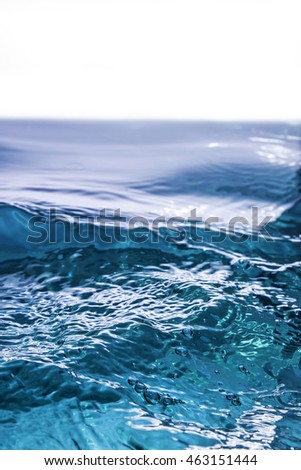 Wave on a white background