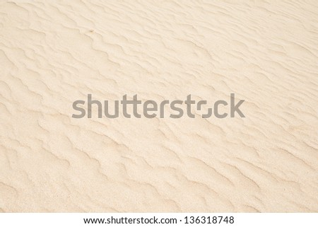 Wave sand texture - stock photo