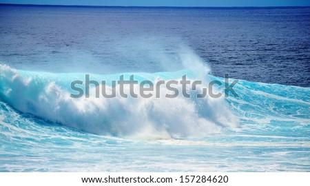 waves - stock photo
