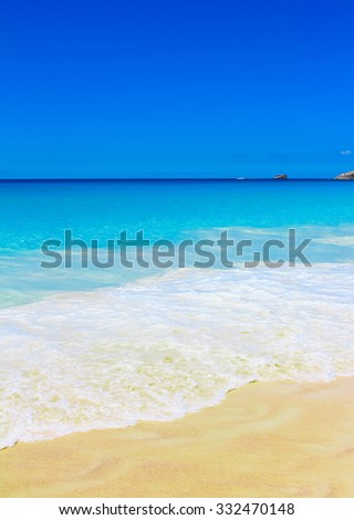 Waves Beach Tide  - stock photo