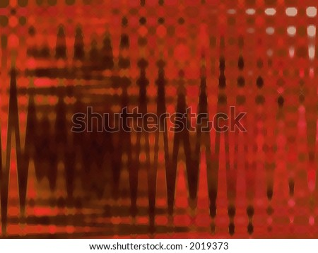 Waves of Orange - High Resolution Illustration.  Suitable for graphic or background use.  Click the designer's name under the image for various  colorized versions of this illustration.