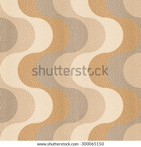 Waves style - ripple pattern - linear waves - paneling pattern - wrapping paper - Interior wall panel pattern - Design wallpaper - repeating pattern - seamless background - White Oak wood texture - stock photo