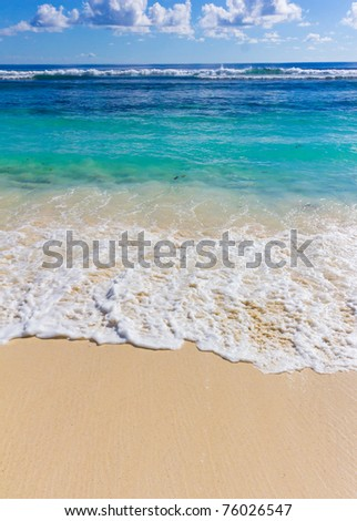 Waves Waters Storm - stock photo