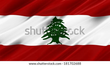 Waving Flag | Lebanon
