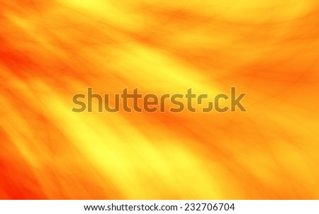Wavy orange card flow modern web background - stock photo