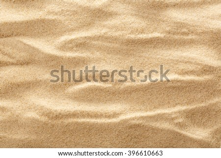 Wavy sample of beach sand as background