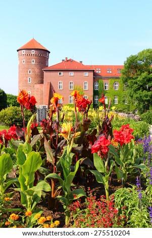 Wawel Royal Castle, Krakow, Poland - stock photo