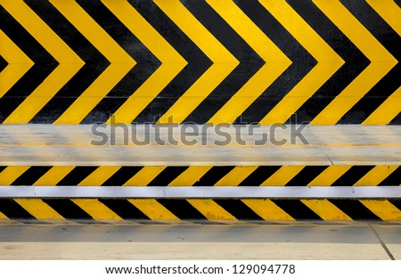 way traffic sign. - stock photo