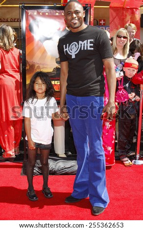 "Wayne Brady attends the Los Angeles Premiere of ""Kung Fu Panda"" held at the Grauman's Chinese Theater in Hollywood, California, United States on June 1, 2008."