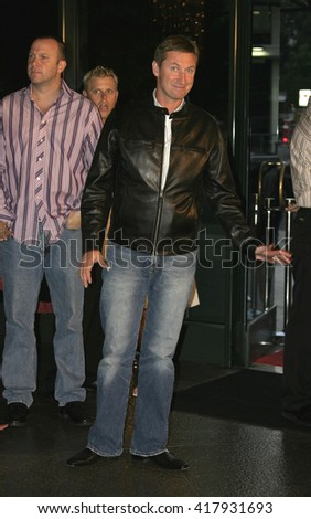 "Wayne Gretzky at the World premiere of ""Dirty Deeds"" held at the DGA Theatre in Hollywood, USA on August 24, 2005."