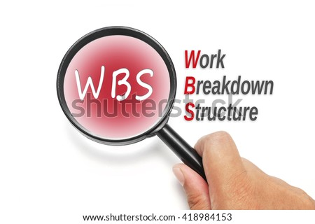 WBS, acronyms business concept