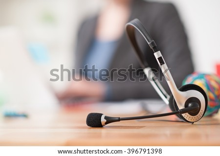 We are waiting for your call - stock photo