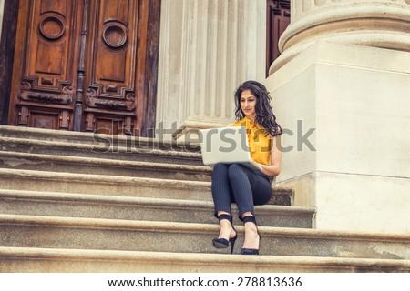 stock-photo-wearing-sleeveless-orange-sh