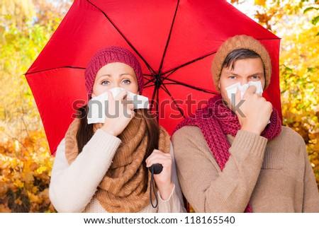 weather illness - stock photo
