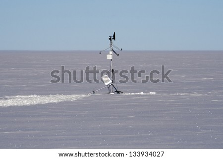 Weather Station in Antarctica