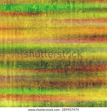 Weathered and distressed grunge background with different color patterns: yellow (beige); brown; green; pink - stock photo