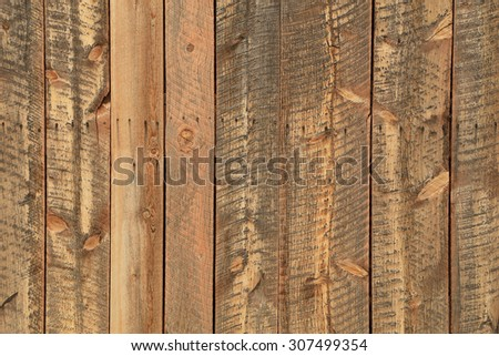 Weathered barn wood background. - stock photo