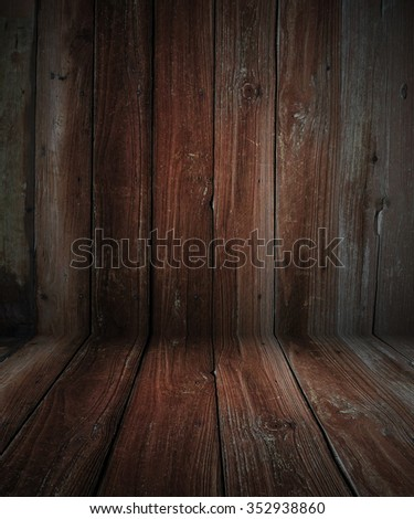 weathered barn wood background with knots. red old wood,