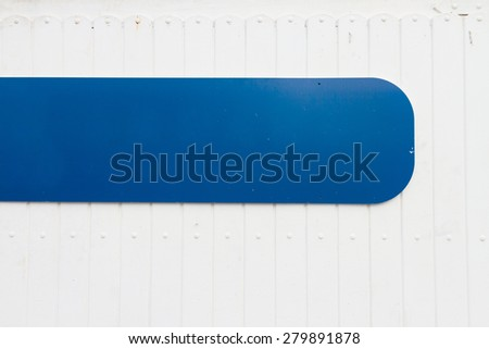 weathered  blue and  white wooden background in marine style